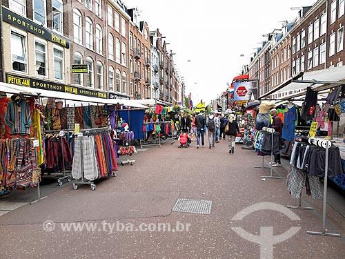 Albert Cuyp Markt  - Amsterdam - Holanda do Norte - Holanda