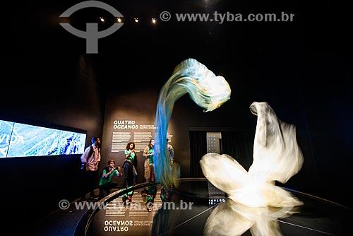 Exposição Quatro Oceanos no Museu do Amanhã  - Rio de Janeiro - Rio de Janeiro (RJ) - Brasil