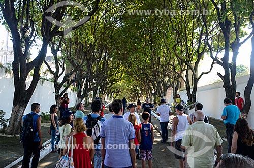 Passeio turístico Tour Fantasma - um projeto do professor de História Milton Teixeira - no Cemitério da Venerável Ordem Terceira de São Francisco da Penitência - também conhecido como Cemitério da Penitência  - Rio de Janeiro - Rio de Janeiro (RJ) - Brasil