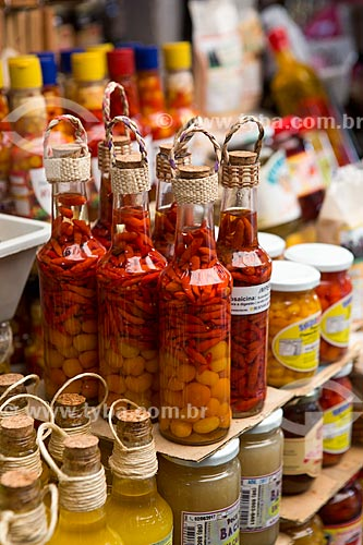 Pimentas à venda no Mercado Central de São Luís  - São Luís - Maranhão (MA) - Brasil
