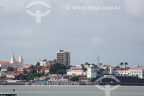 Vista de São Luiz a partir da Península de Ponta DAreia  - São Luís - Maranhão (MA) - Brasil