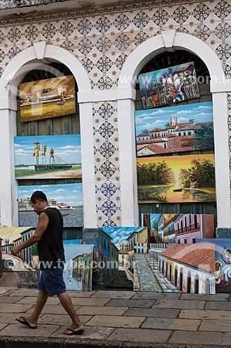 Quadros à venda na Rua do Giz  - São Luís - Maranhão (MA) - Brasil