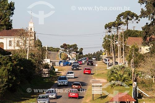 Rua Júlio Cesar Setenareski na Colônia Italiana do Mergulhão  - São José dos Pinhais - Paraná (PR) - Brasil