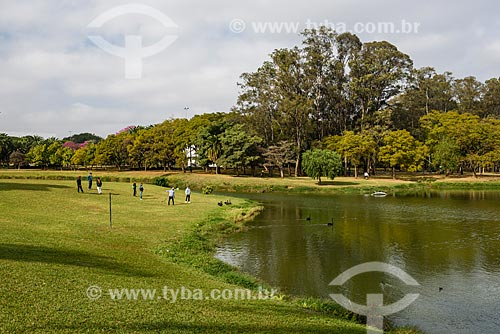 Lago do Ibirapuera no Parque do Ibirapuera  - São Paulo - São Paulo (SP) - Brasil