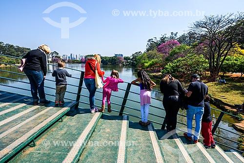 Ponte sobre o Lago do Ibirapuera - Parque do Ibirapuera  - São Paulo - São Paulo (SP) - Brasil