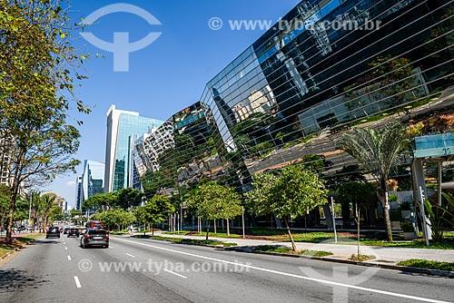 Fachada do Faria Lima 3500 Tower na Avenida Brigadeiro Faria Lima  - São Paulo - São Paulo (SP) - Brasil