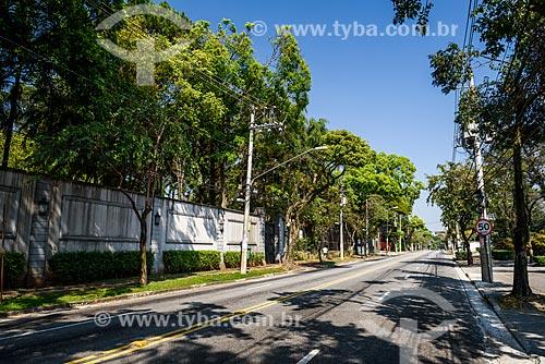 Vista da Avenida Europa  - São Paulo - São Paulo (SP) - Brasil