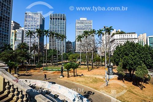 Vista geral do Viaduto do Chá  - São Paulo - São Paulo (SP) - Brasil