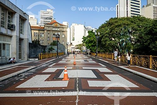 Viaduto Santa Ifigênia (1913) com prédios ao fundo  - São Paulo - São Paulo (SP) - Brasil