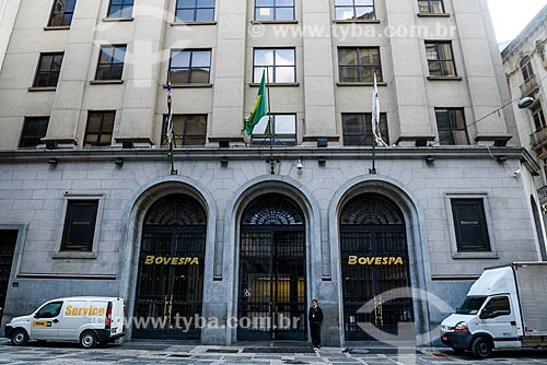 Fachada da Bolsa de Valores de São Paulo (BOVESPA)  - São Paulo - São Paulo (SP) - Brasil
