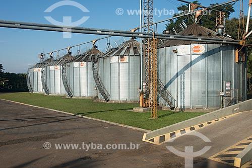 Secadores e silos de café  - Garça - São Paulo (SP) - Brasil