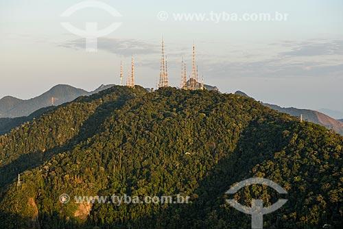 Vista do Morro do Sumaré a partir do Cristo Redentor  - Rio de Janeiro - Rio de Janeiro (RJ) - Brasil
