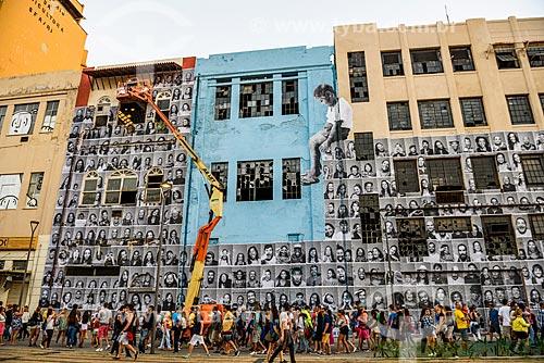 Avenida Rodrigues Alves durante os Jogos Olímpicos Rio 2016 - Boulevard Olímpico com arte de rua  - Rio de Janeiro - Rio de Janeiro (RJ) - Brasil