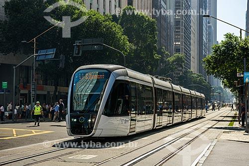 Veículo Leve Sobre Trilhos (VLT)  - Rio de Janeiro - Rio de Janeiro (RJ) - Brasil