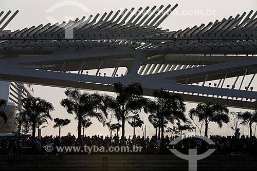 Museu do Amanhã durante os Jogos Olímpicos Rio 2016 - Boulevard Olímpico  - Rio de Janeiro - Rio de Janeiro (RJ) - Brasil
