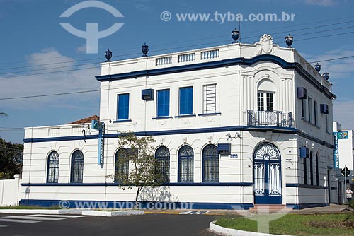 Agência do INSS (Instituto Nacional do Seguro Social) em casarão histórico  - Garça - São Paulo (SP) - Brasil