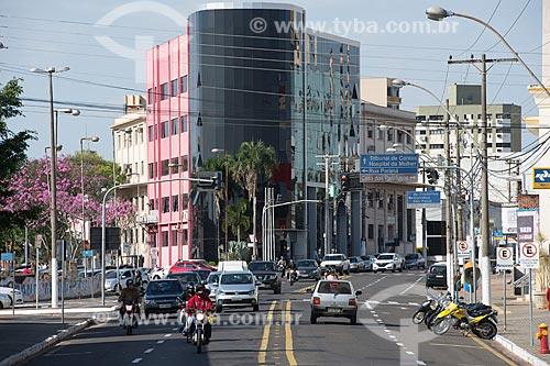 Confluência da Avenida Sampaio Vidal com a Avenida Mauá  - Marília - São Paulo (SP) - Brasil