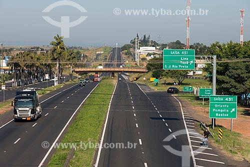 Rodovia Comandante João Ribeiro Barros (SP-294)  - Marília - São Paulo (SP) - Brasil