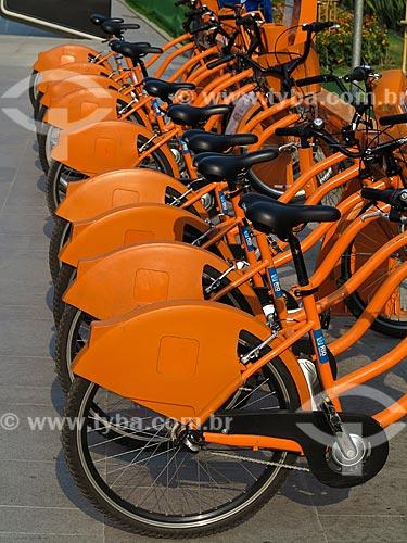 Bicicletas públicas - para aluguel  - Rio de Janeiro - Rio de Janeiro (RJ) - Brasil