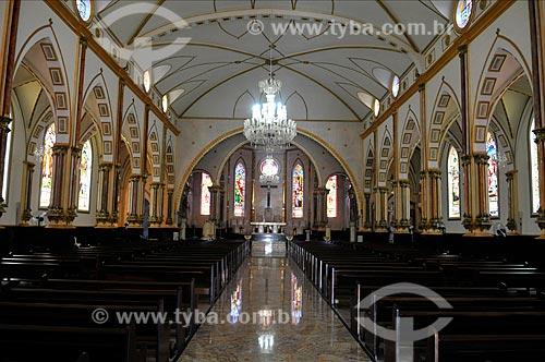 Interior da Igreja Matriz de São Pedro  - Tupã - São Paulo (SP) - Brasil