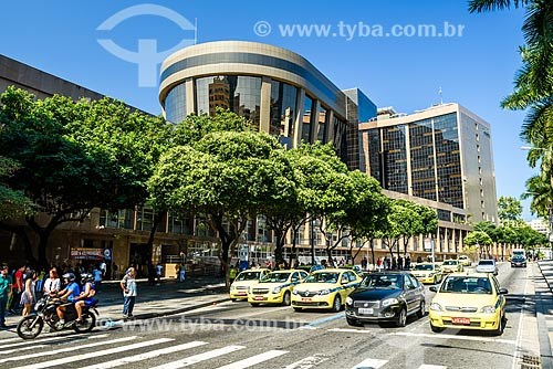 Fachada da sede do Tribunal de Justiça do Rio de Janeiro a partir da Rua Primeiro de Março  - Rio de Janeiro - Rio de Janeiro (RJ) - Brasil