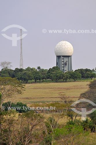 Radar da Força Aérea Brasileira - Destacamento de controle do espaço aéreo  - Tanabi - São Paulo (SP) - Brasil