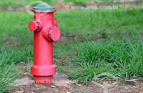 Hidrante na Avenida José Munia  - São José do Rio Preto - São Paulo (SP) - Brasil