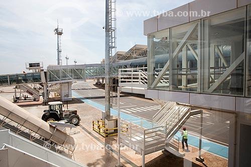 Área de desembarque do Aeroporto Santa Genoveva  - Goiânia - Goiás (GO) - Brasil