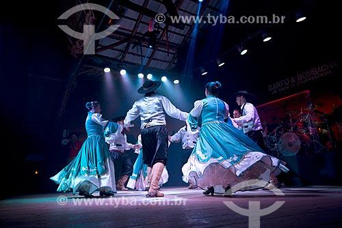 Show de dança gaúcha na cidade de Canela  - Canela - Rio Grande do Sul (RS) - Brasil