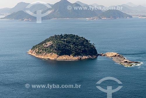 Foto aérea da Ilha de Cotunduba   - Rio de Janeiro - Rio de Janeiro (RJ) - Brasil
