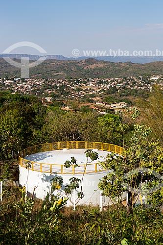 Estação de tratamento de água da Companhia Saneamento de Goiás S/A (SANEAGO) - concessionária de serviços de tratamento de água e esgoto  - Goiás - Goiás (GO) - Brasil