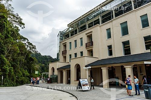 Fachada do Centro de Visitantes Paineiras - antigo Hotel Paineiras  - Rio de Janeiro - Rio de Janeiro (RJ) - Brasil