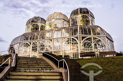 Estufa do Jardim Botânico de Curitiba ou Jardim Botânico Francisca Maria Garfunkel Richbieter  - Curitiba - Paraná (PR) - Brasil