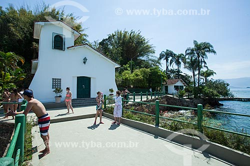 Igreja da Piedade - Ilha da Gipóia (Piedade)  - Angra dos Reis - Rio de Janeiro (RJ) - Brasil