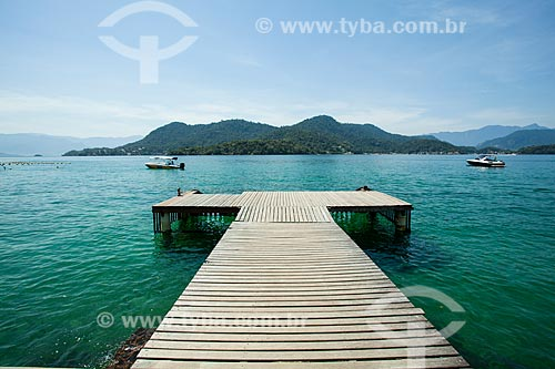 Pier na Ilha da Gipóia (Piedade)  - Angra dos Reis - Rio de Janeiro (RJ) - Brasil