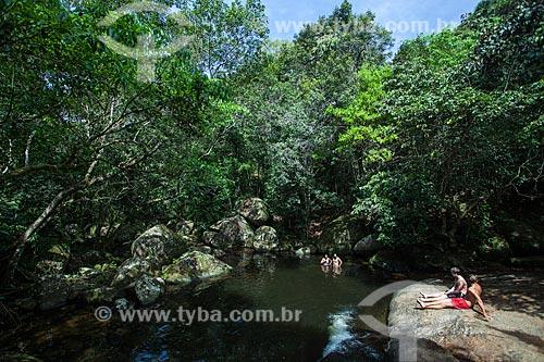 Poção ou Cachoeira dos Escravos  - Angra dos Reis - Rio de Janeiro (RJ) - Brasil