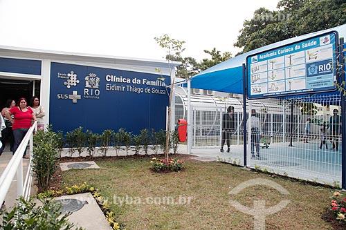Clínica da Família Eidimir Thiago de Souza  - Rio de Janeiro - Rio de Janeiro (RJ) - Brasil