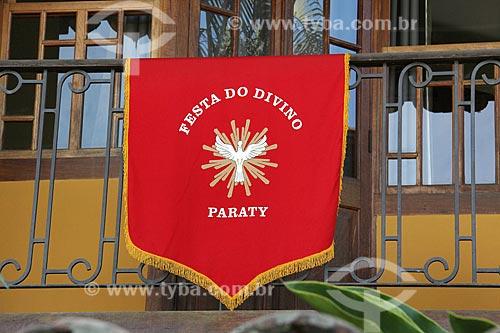 Detalhe de decoração para a Festa do Divino na cidade de Paraty  - Paraty - Rio de Janeiro (RJ) - Brasil