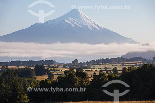 Vista do Vulcão Osorno  - Província de Osorno - Chile