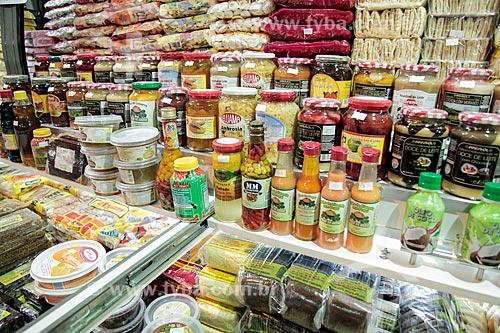 Mercadorias à venda no Centro Luiz Gonzaga de Tradições Nordestinas  - Rio de Janeiro - Rio de Janeiro (RJ) - Brasil