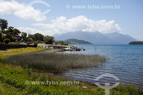Vista do Lago Puyehue  - Puyehue - Província de Osorno - Chile