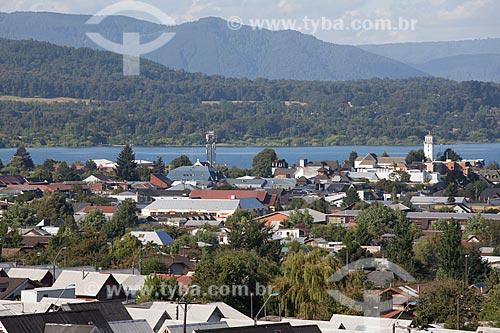 Vista geral da cidade de Villarrica  - Villarrica - Província de Cautín - Chile