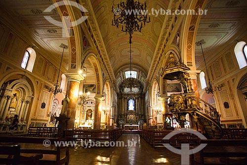 Interior da Basílica de la Merced (Basílica de Nossa Senhora das Mercedes) - 1548  - Santiago - Província de Santiago - Chile