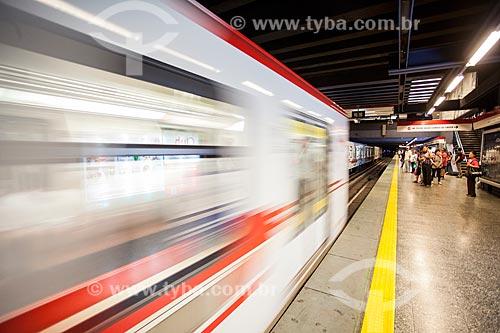 Estação Tobalaba do Metrô de Santiago  - Santiago - Província de Santiago - Chile