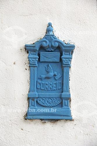 Detalhe de caixa de correio  - Cabo Frio - Rio de Janeiro (RJ) - Brasil