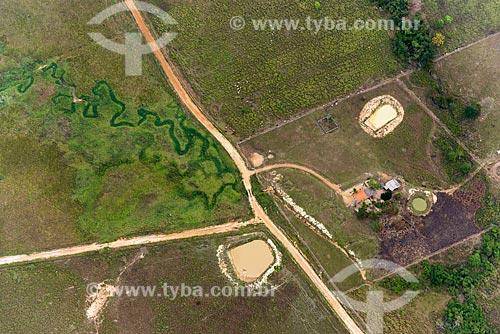Foto aérea de fazenda na cidade de Tucumã  - Tucumã - Pará (PA) - Brasil