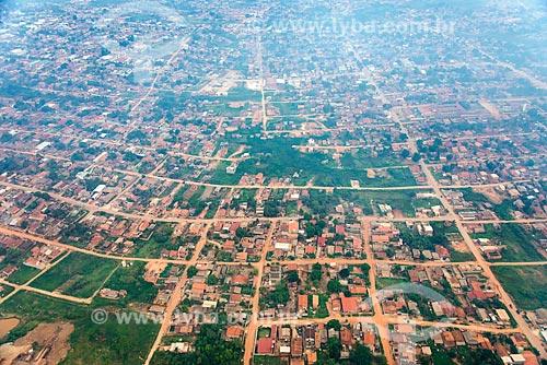 Foto aérea da zona oeste da cidade de Tucumã  - Tucumã - Pará (PA) - Brasil