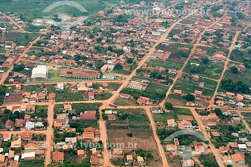 Foto aérea da cidade de Tucumã  - Tucumã - Pará (PA) - Brasil