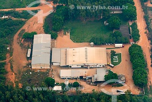 Foto aérea da Laticínios ILDA - Indústria e Comércio de Laticinios da Amazonia  - Tucumã - Pará (PA) - Brasil