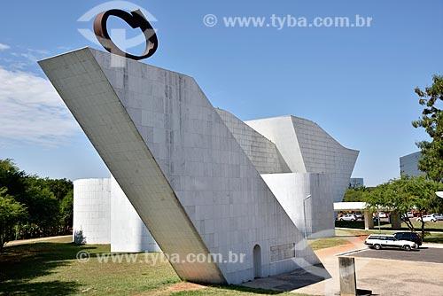 Pira da Pátria no Panteão da Pátria e da Liberdade Tancredo Neves  - Brasília - Distrito Federal (DF) - Brasil